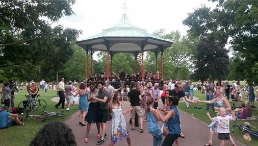 greenwich park bandstand 2014